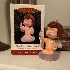 "Hallmark ""CAMELLIA - MARY'S ANGELS"" ornament"